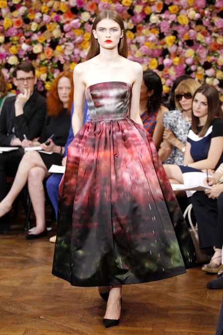 Dior- Raf Simons fabric from art that is art.  Loved 'Dior and I' the movie