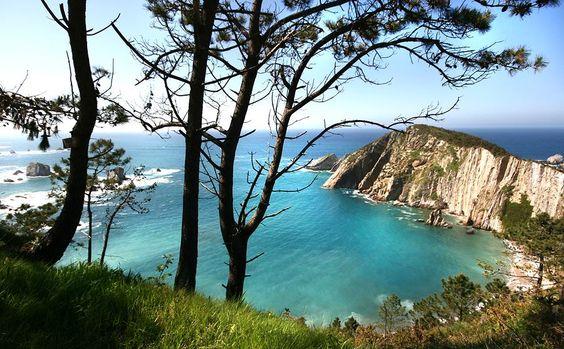 Praia do silêncio. Asturias #praias #praiaisdomundo  http://goo.gl/xO4Ozf