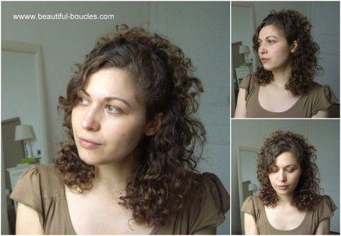 id e coiffure cheveux boucl s une cascade de boucles avec. Black Bedroom Furniture Sets. Home Design Ideas