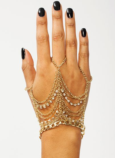 Off The Chain Hand Bracelet $11.10