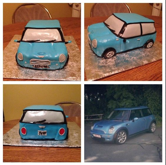 Car cake! Created by Tito's Cakes