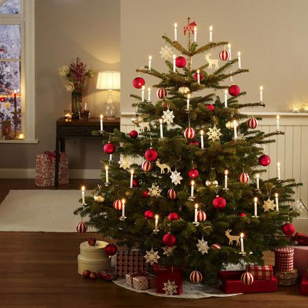 festlich wir dekorieren den christbaum adventszeit. Black Bedroom Furniture Sets. Home Design Ideas