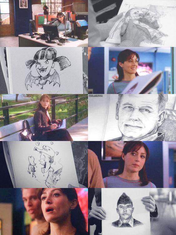 Kate a její kresby