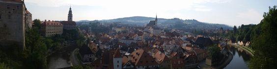Panoramic view - Český Castle
