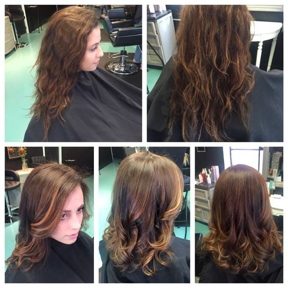 Dolce Salon and Spa. Before and After Hair By:Heather Mackenzie  www.dolcesalon.biz
