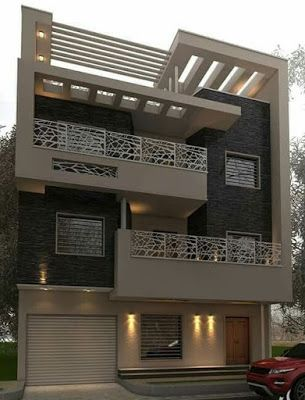 Modern House Front Design Ideas Exterior Wall Decoration Trends 2019 Cool House Designs House Front Design Modern House Exterior