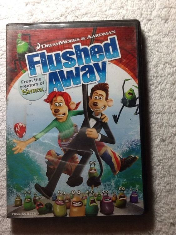 Flushed away, Movies and Frames on Pinterest