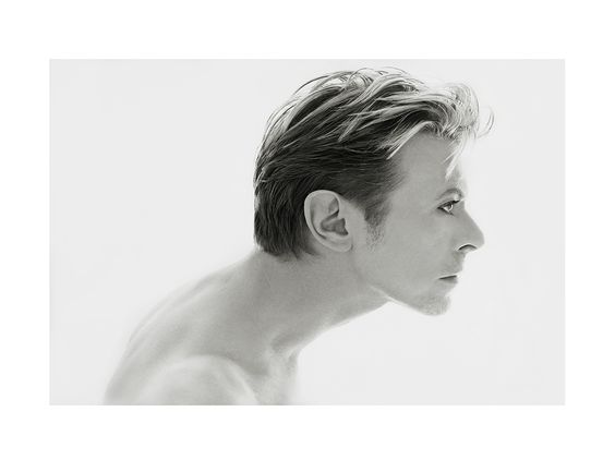 """Kate Garner, British, b.1954- """"Bowie""""; archival hahnemuhle print, 1 from an edition of 15, 142x101.5cm. Signed by the artist, a photograph of #DavidBowie"""