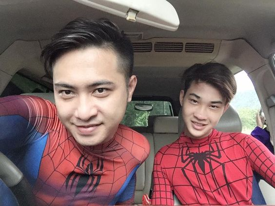 Two Spiderman and Joker Dancing in a Car . Funny Superheroes Movie IRL :)
