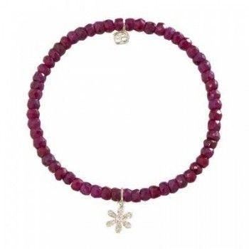 Charm Ruby Bead Bracelet | JR Dunn Jewelers | #Jewelry