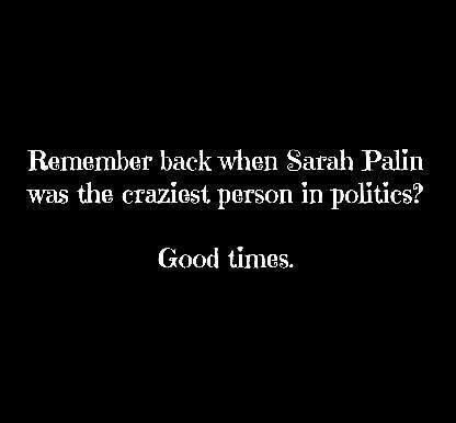 Humor is Contagious's photo.  Good question: Who's worse, Sarah Palin or Donald Trump?: