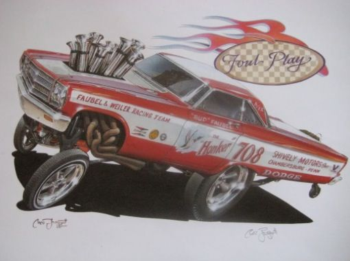 Chris Frogett hot rod artist