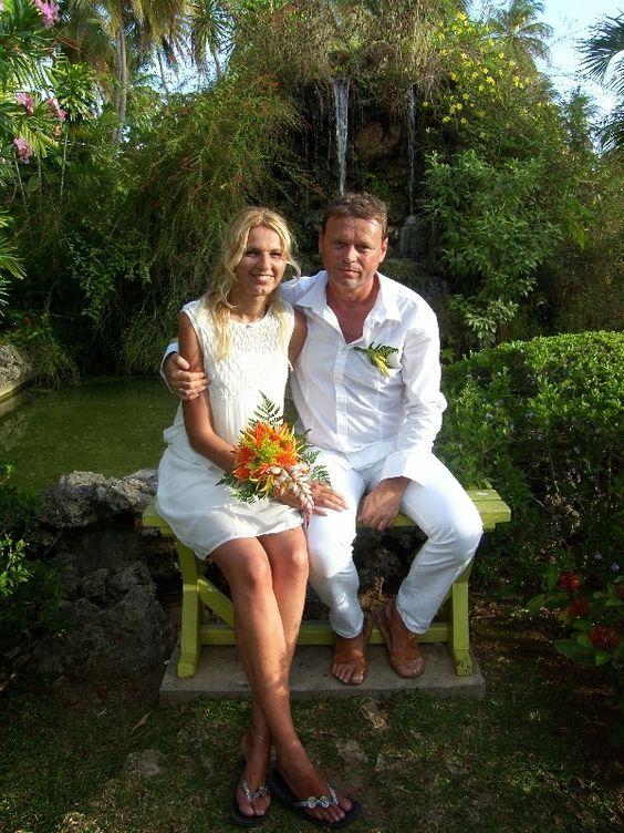 Quiet wedding abroad in Trinidad & Tobago. More at http://real-destination-weddings.blogspot.com/  #quiet #wedding #abroad #Trinidad #Tobago