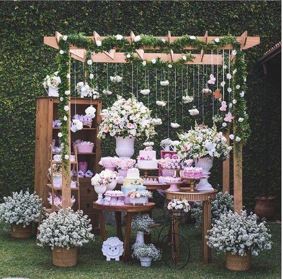 Mi Fiesta De Xv Años En Un Jardin Quinta Carlota