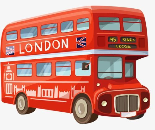 Double Decker Bus With Images Bus Cartoon London Bus Double