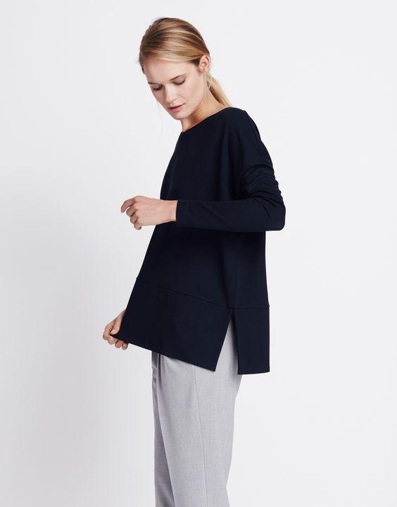 Oversize-Shirt blau online kaufen   Ulina cosmic blue von someday Fashion