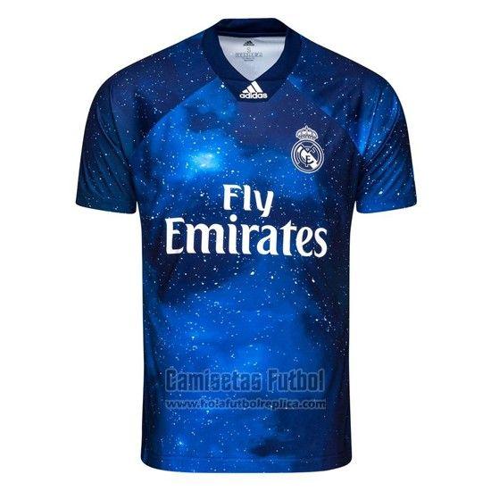 Camiseta Real Madrid Ea Sports 2018 2019 Futbol Replicas Camisetas De Fútbol Camisa De Fútbol Nueva Camiseta Real Madrid