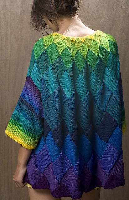 Ravelry: Art Deco Cardigan pattern by Helen Hamann:
