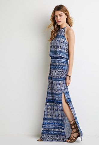 Tribal Print Maxi Dress  Forever 21 - 2000054127  Fashion ...