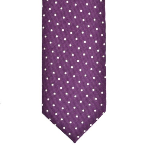 Purple Dots Tie