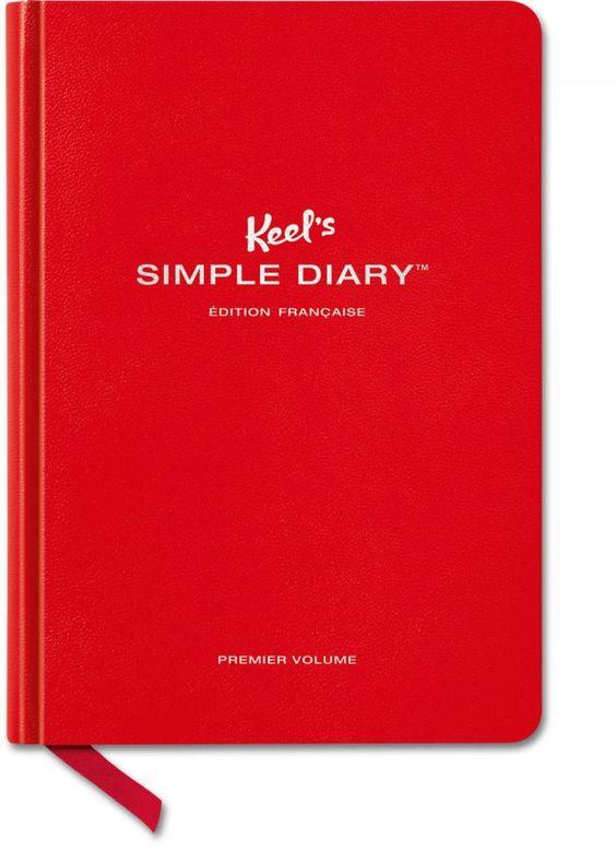 Keel's Simple Diary Premier Volume (rouge) édition français