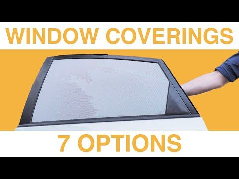 How To Cover Car Windows For Sleeping