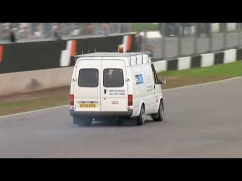Jaguar Xj220 Powered Ford Transit Supervan In 2020 Ford Transit Jaguar Xj220 Ford Van