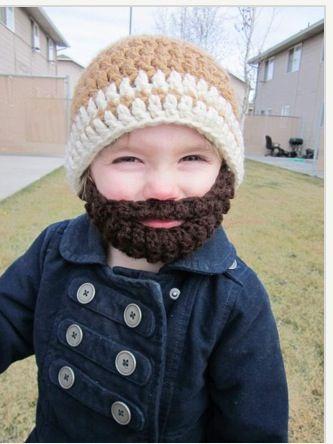 Pequeno barbudinho estiloso.  :)