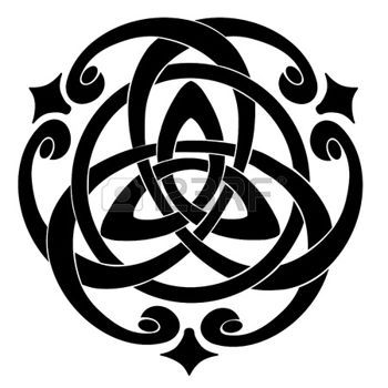 celtique: Illustration du Celtic Knot Motif