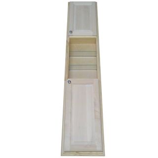 @Overstock.com - The Baldwin Pantry storage cabinet highlights a recessed design that rests in the wall, between studs. This storage cabinet features a 78-inch height and is a great way to take advantage of the space you never knew you had.http://www.overstock.com/Home-Garden/Baldwin-78-inch-Natural-Recessed-Pantry-Storage-Cabinet/7673829/product.html?CID=214117 $299.99