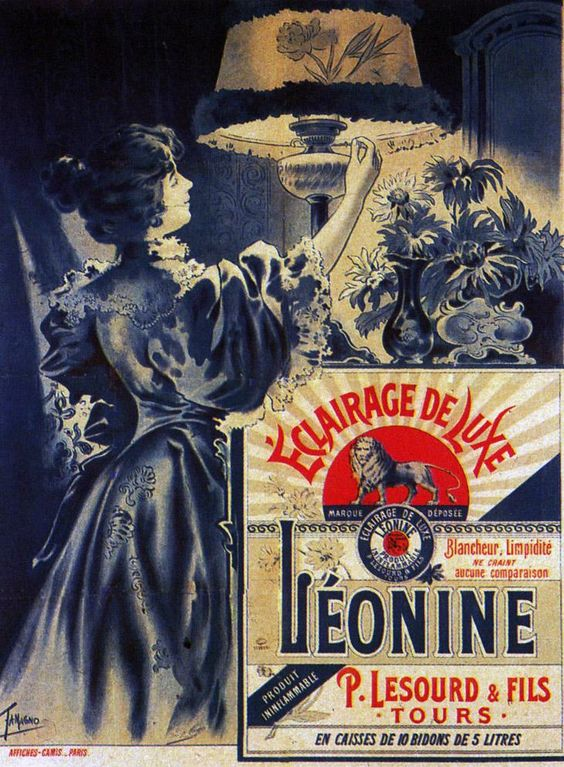 1900  Tamagno  Eclariage de Luxe Léonine