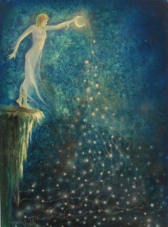 LLuvia de estrellas by Marcela García: