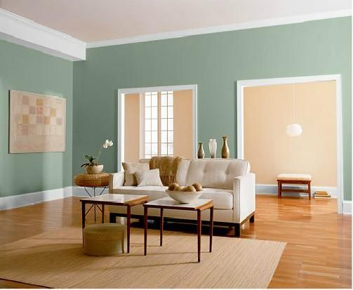 Paint color for dining room behr scotland road with - Living and dining room paint colors ...