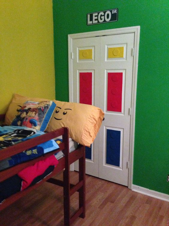 New Lego Bedroom For The Home Pinterest The Doors
