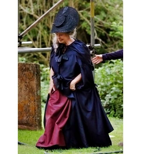 """""""She's unspeakable,"""" Judi Dench says of her character. """"She's autocratic, suspicious, and pretty tricky; she wants Darcy to marry her own daughter. I knew the book well. Do you know, it was written when Jane Austen was so young. Then she put it in a drawer and left it there for years…It is a masterpiece and a great love story. I was pleased to be offered the part, and I wanted very much to work with Joe. He is 33 years old, and it's very nice when you're my age to be asked by somebody so…"""
