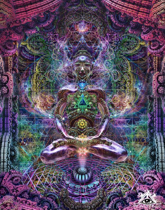 Trinity Méditation Hologram |                                     MindCradle