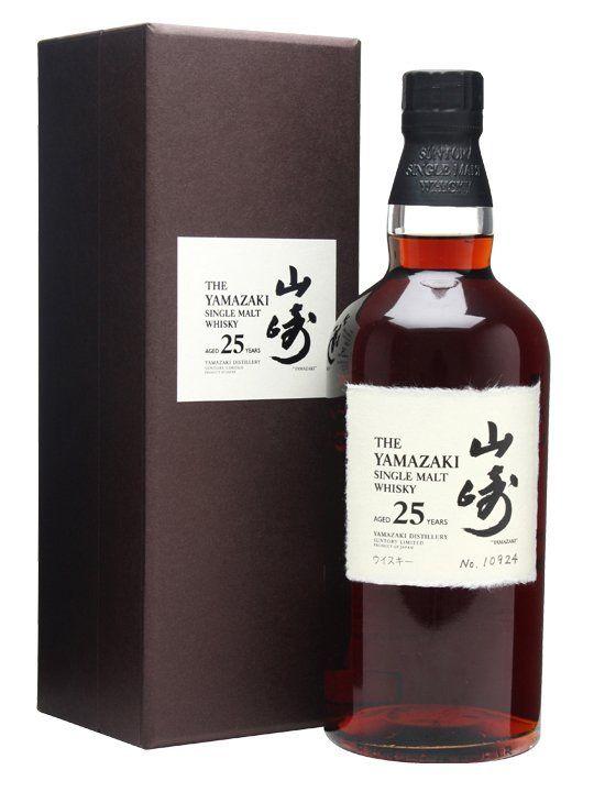 Yamazaki 25 Years 120000 150000 Malt Whisky Whisky Cigars And Whiskey