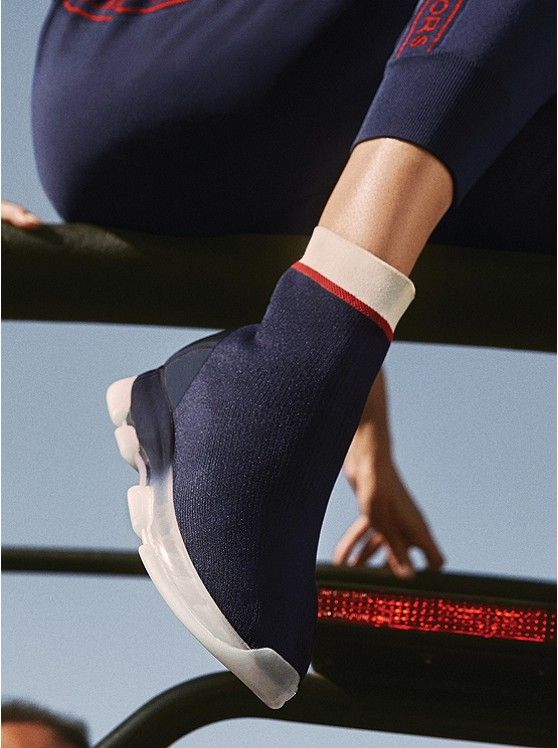 Kendra Stretch-knit Sock Sneaker