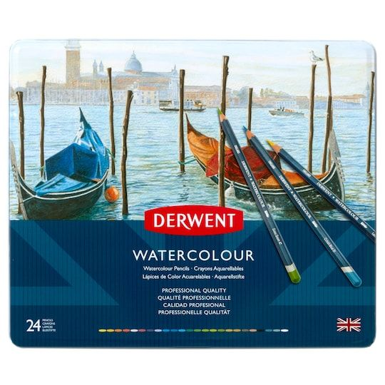 Derwent Watercolor Pencil 24 Color Set Michaels In 2020