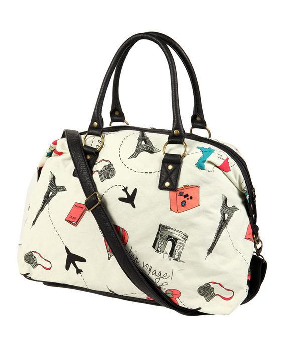 Bon Voyage Duffle Bag   FOREVER21 cute for overnight stays