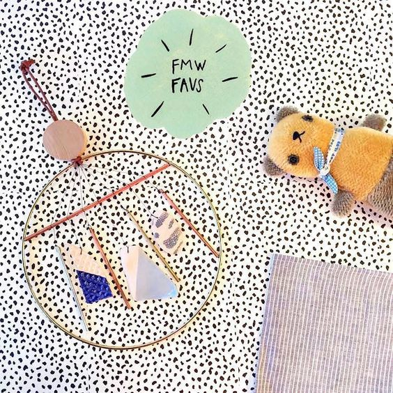Ladies and Gentlemen Studios chime; Polka Dot Club bear; and Fog Linen! More Forage Faves.