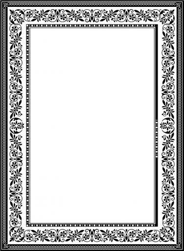 Download File Desain Frame Border Berformat Vector Corel Draw Objek Gambar Bingkai Seni Dinding