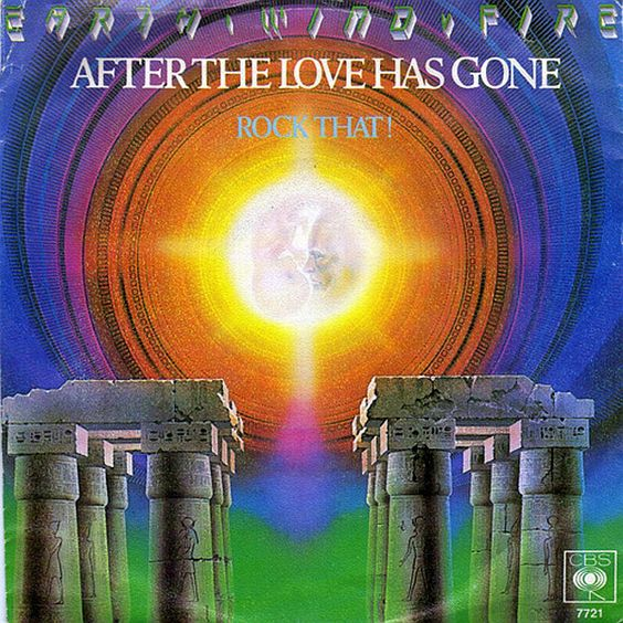 Earth Wind & Fire – After the Love Has Gone (single cover art)