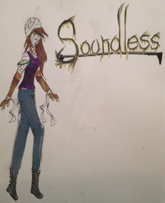 Soundless. A random character I came up with last night.