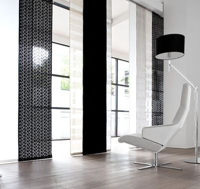 10 mod les de rideaux pour le salon textiles et salons for Style de rideaux pour salon