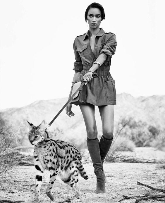 Publication: Harper's Bazaar US March 2015 Model: Anais Mali Photographer: Nathaniel Goldberg