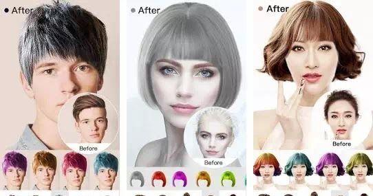 Aplikasi Edit Foto Rambut Untuk Android 6 Aplikasi Gaya Rambut Pria Dan Wanita Terbaik Android Ios 11 Aplikasi Edit F Pengeditan Foto Gaya Rambut Pria Rambut
