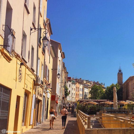 Place des Cardeurs, Aix-en-Provence, France