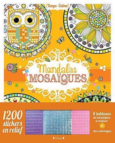 Mosaïques magiques - Illustrations d'Eugénie Varone et Mandalas Mosaïques…