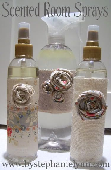 diy room spray - To make, simply mix:  4 ounces of Distilled Water  2 ounces of Witch Hazel  and 1 tablespoon of Scented Oil